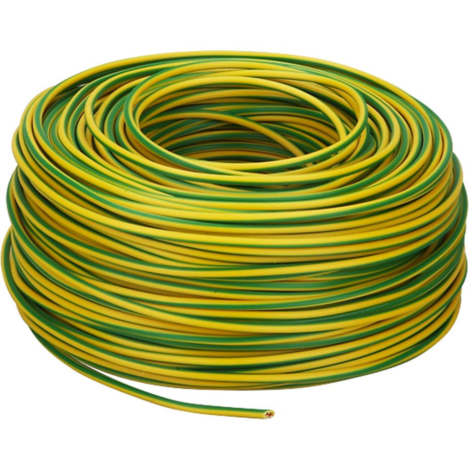 PN 1,5mm² Gul/Grønn Snelle