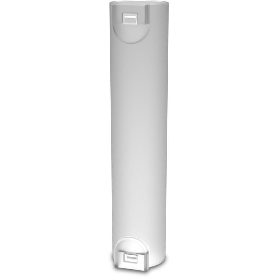 Skjøtemuffe 25mm med lås LSZH hvit