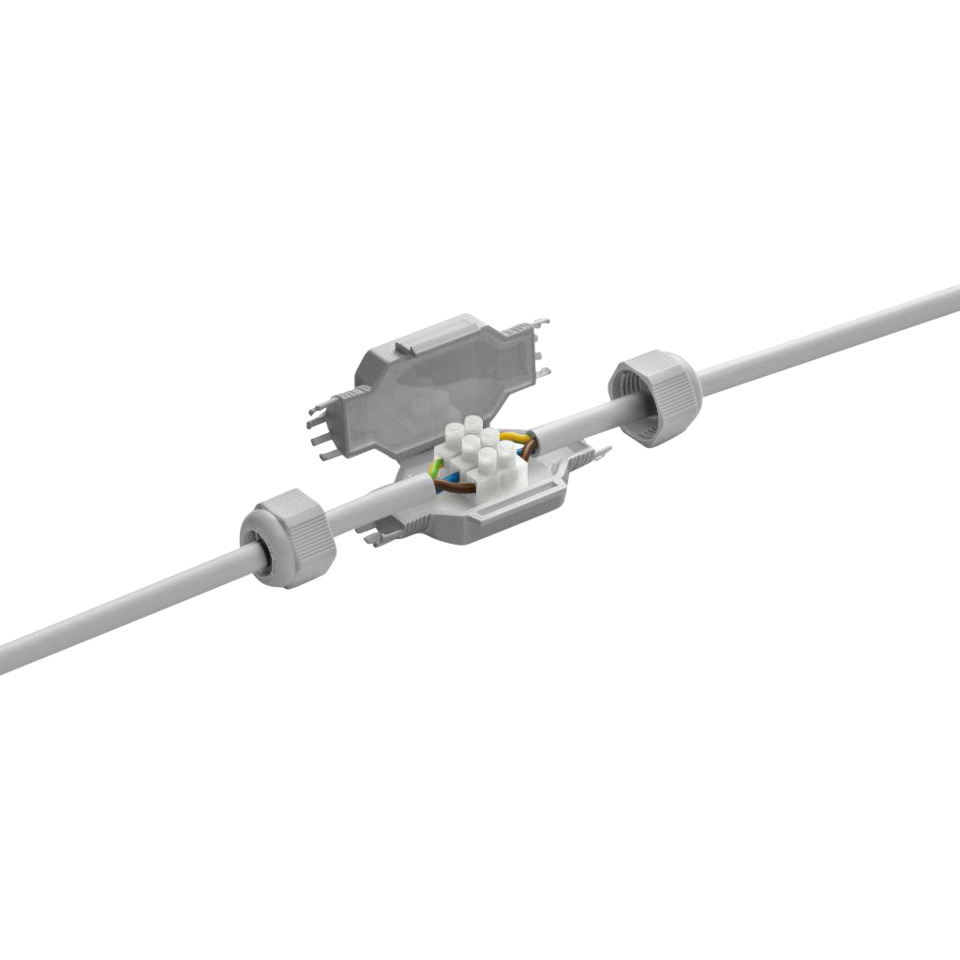 Kabelskjøt IP68 gelfylt 3x2,5 Fred