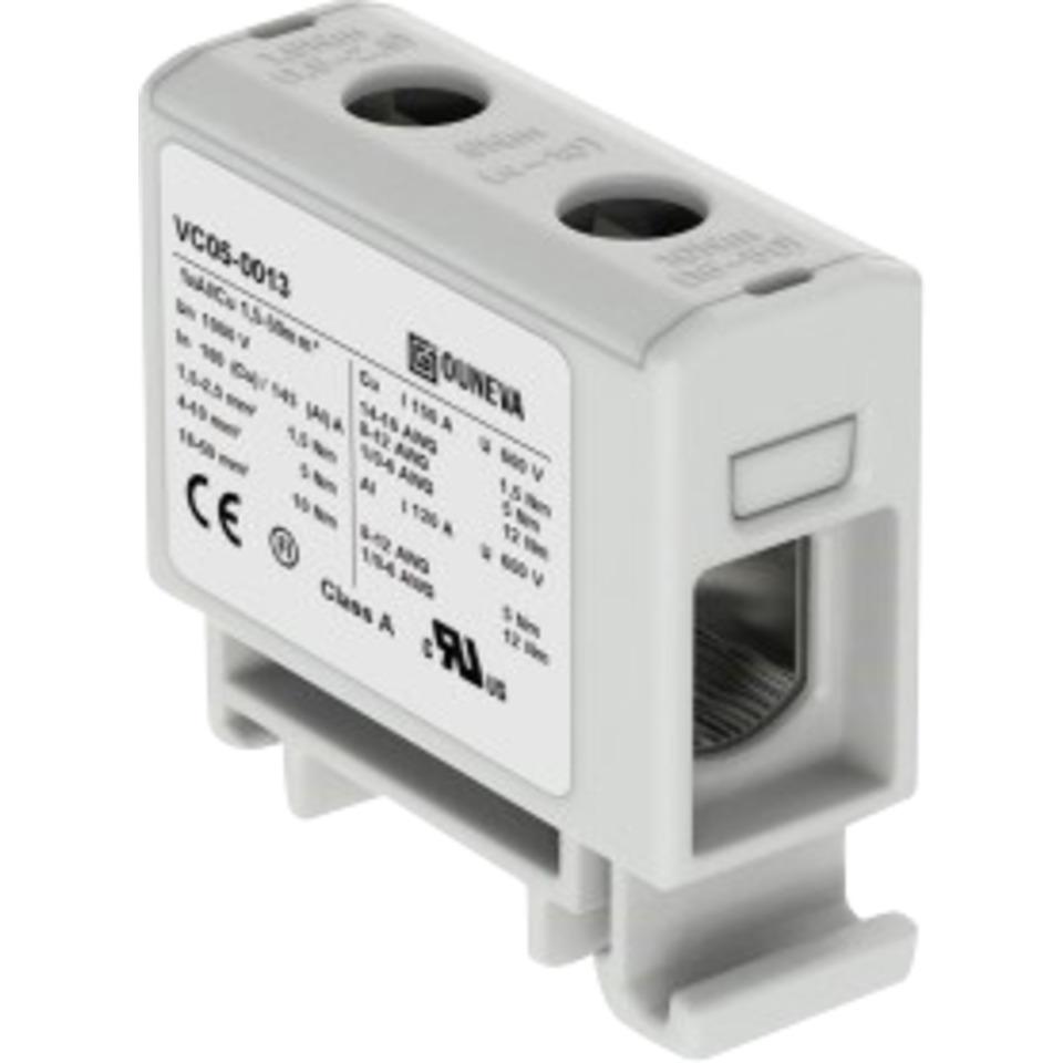 Klemme isolert OTL 1x1,5-50mm² AL/CU Grå
