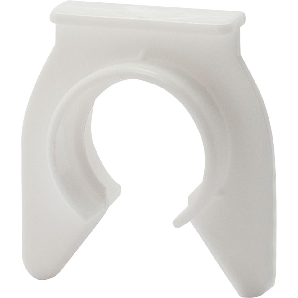 Rørfeste for K-rør 16mm Hvit 50 stk