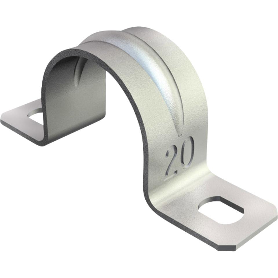 Sadel 13mm Galvanisert