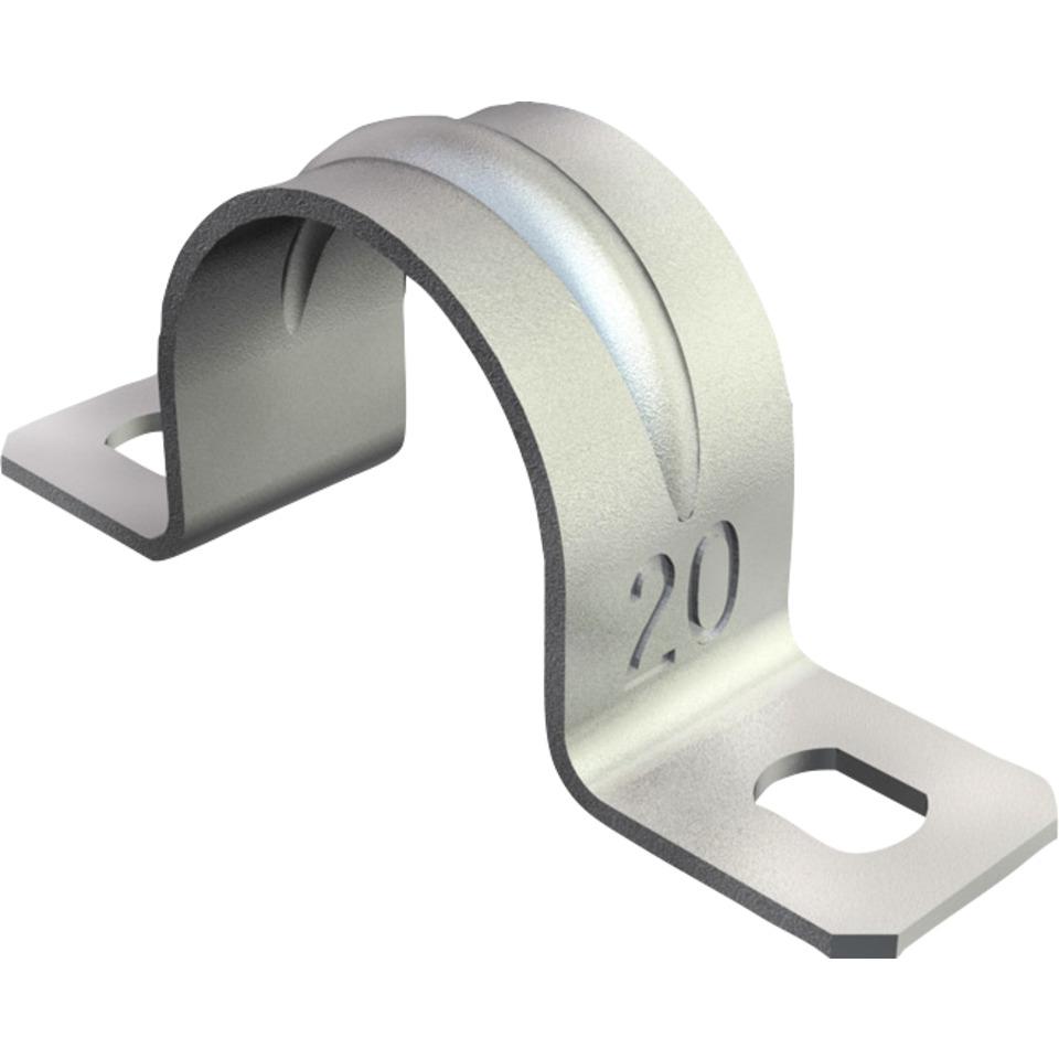 Sadel 25mm Galvanisert