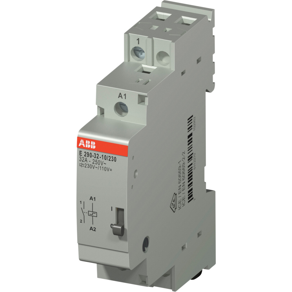 Impulsrele E290-32A-10/230 1NO-230VAC/110VDC ABB