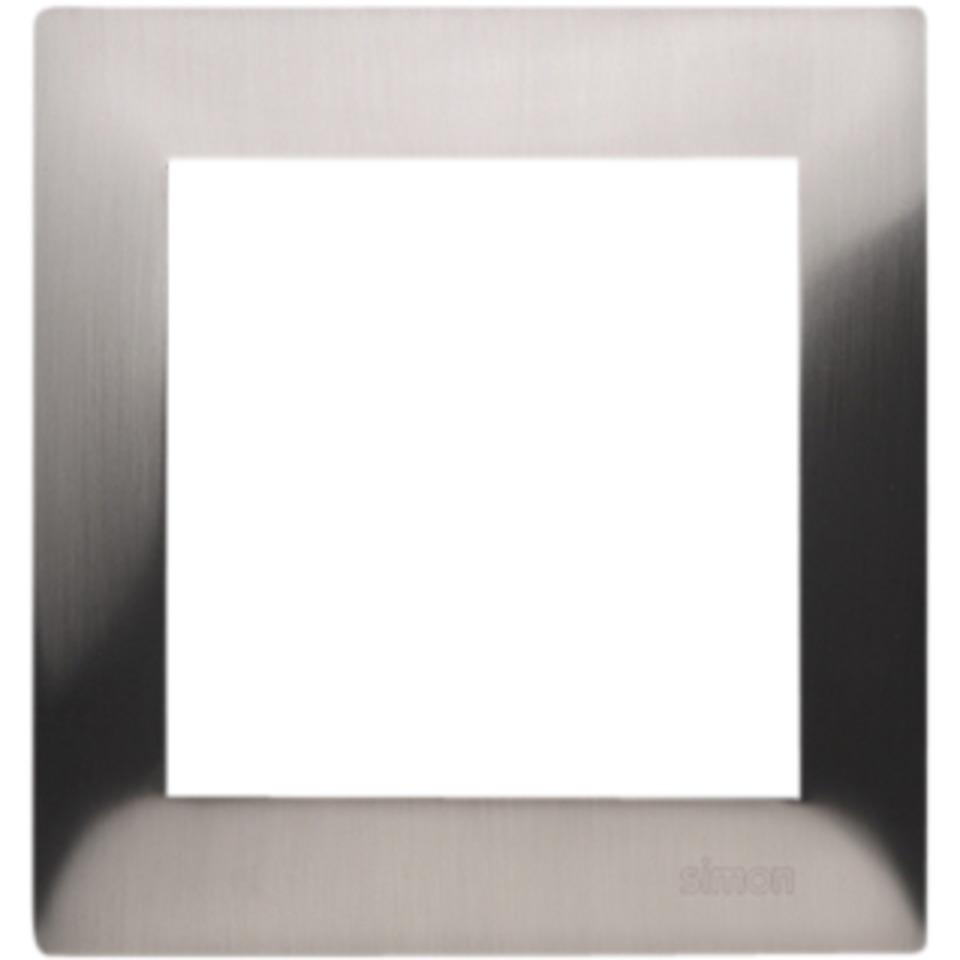 Simon 2-Hulls metall ramme Metal Inox