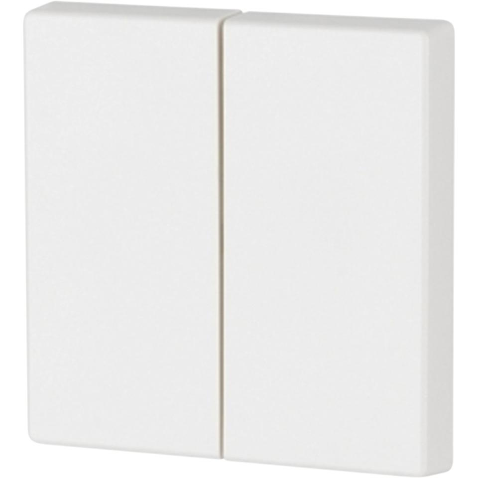 xComfort Glanset vippe hvit dobbel CWIZ-02/31