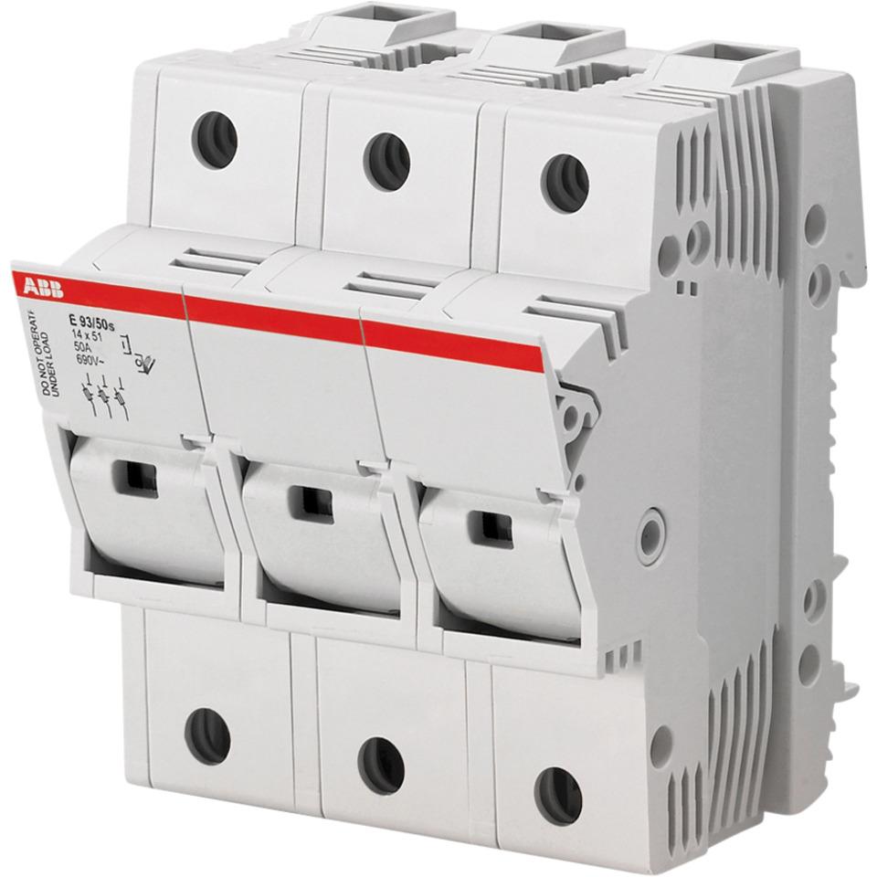 Sikringsholder E 93 50A-3P ABB