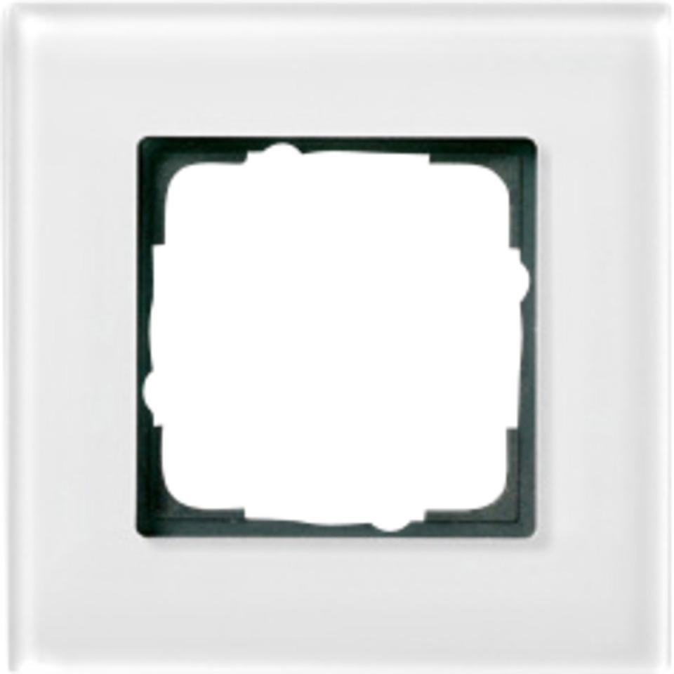 1-H RAMME HVITT GLASS ESPRIT