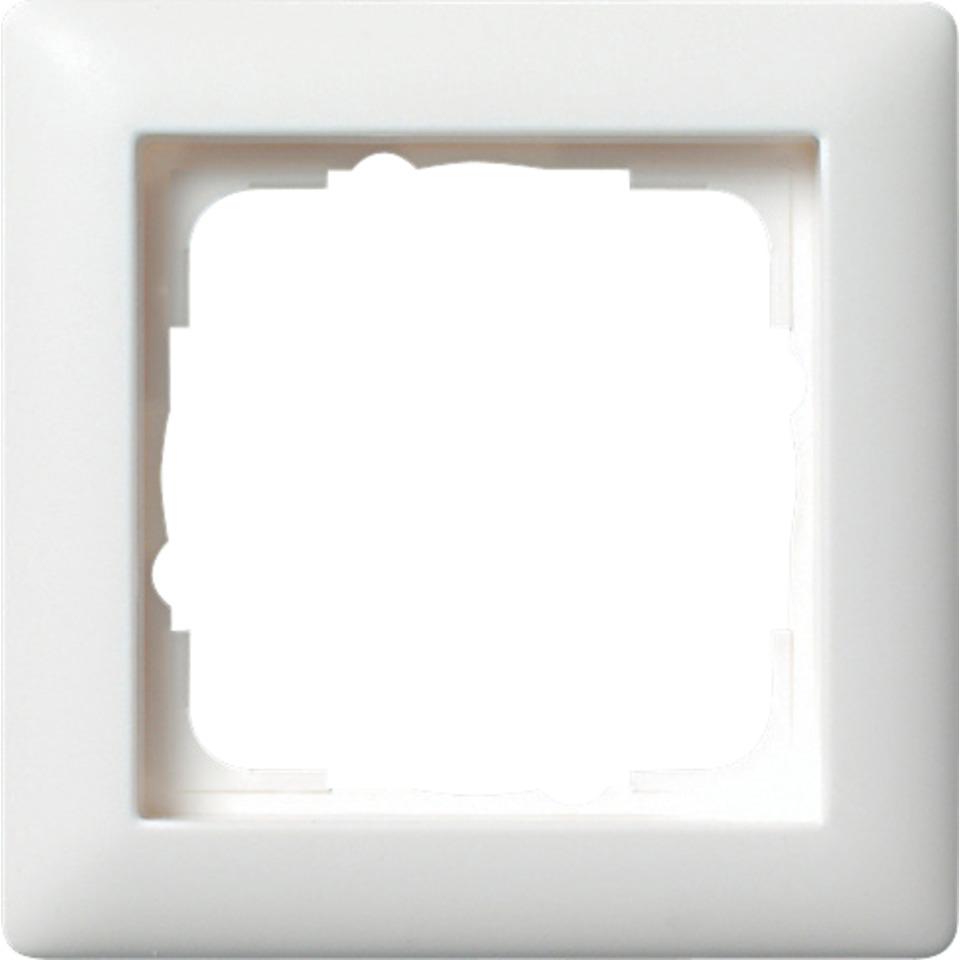 1-H RAMME HVIT STD 55