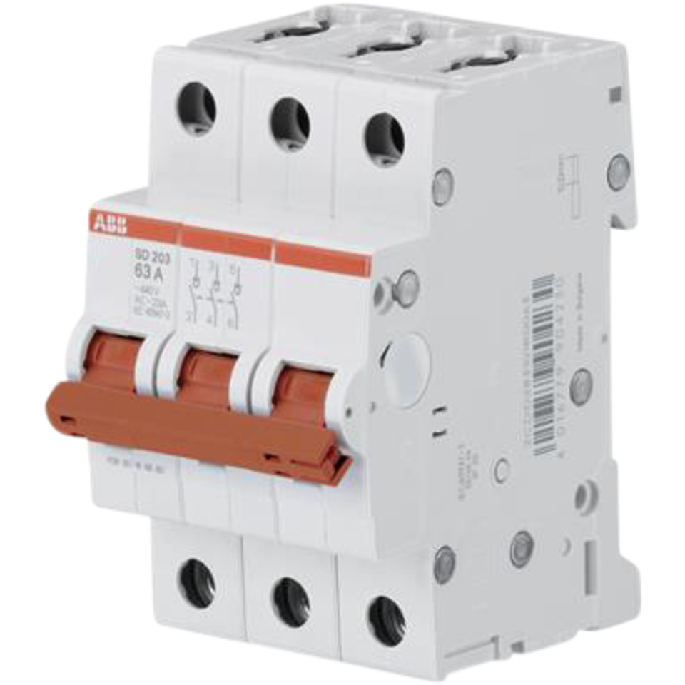 Lastbryter modulær SD203 63A-3P ABB
