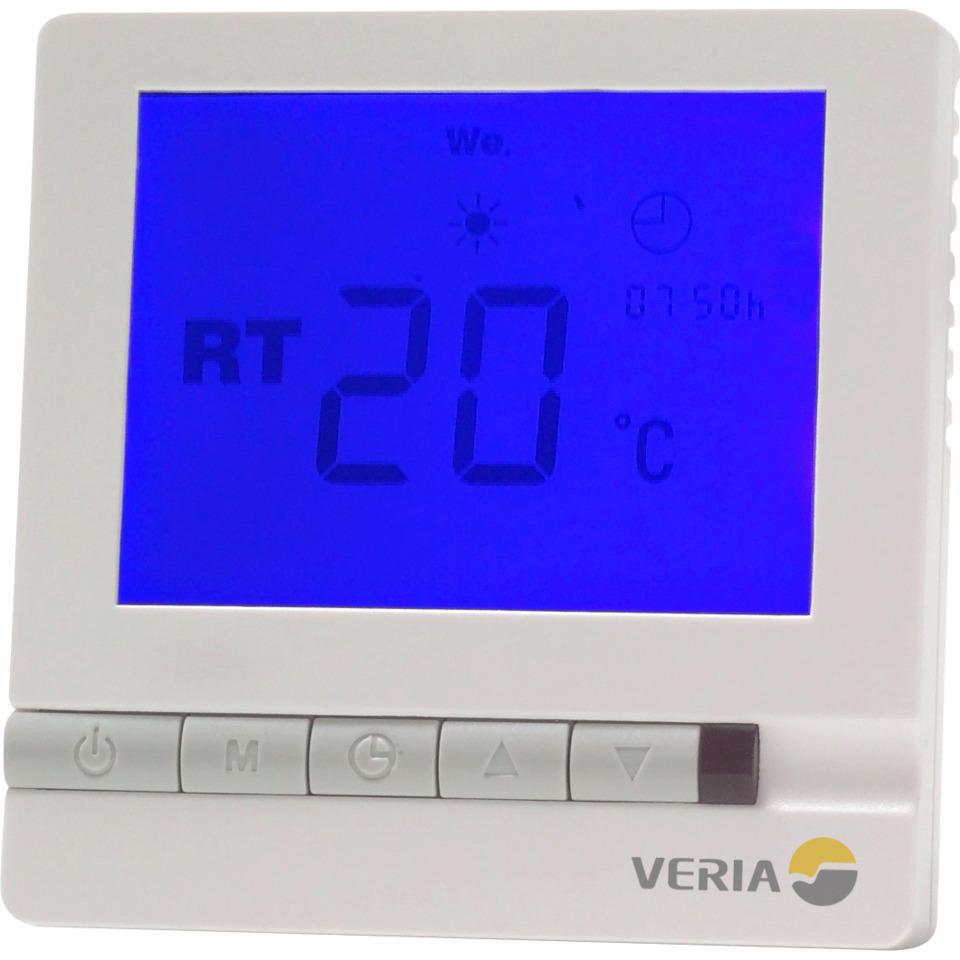 Veria Control T 45, Digital ENØK-termostat m/gulv & romføler