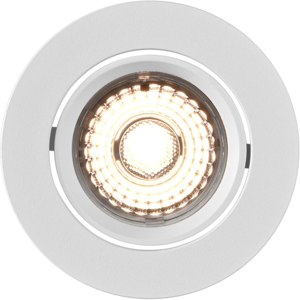 Alfa Downlight 10W matt hvit