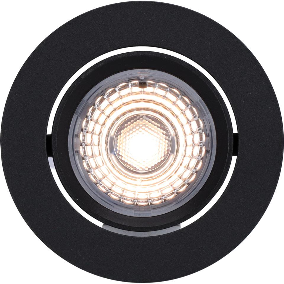 Alfa Downlight 10W matt sort