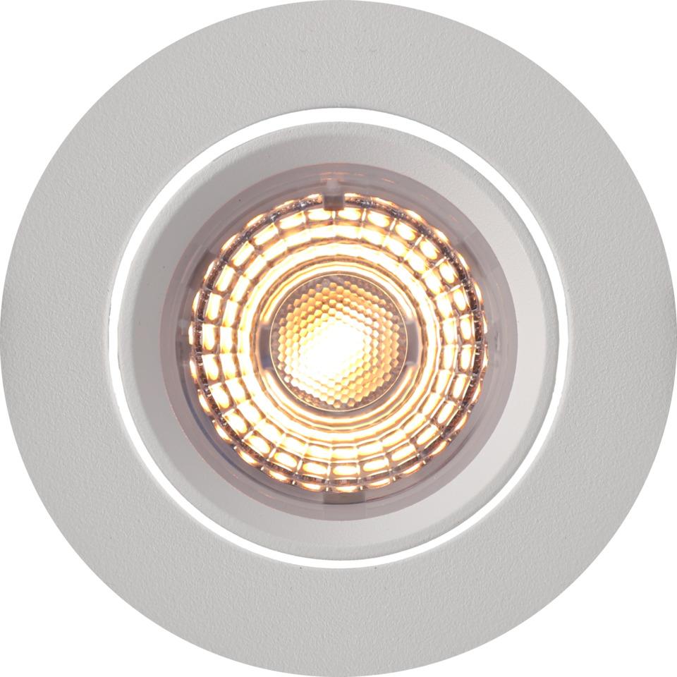 Alfa Downlight Warmdim 10W matt hvit