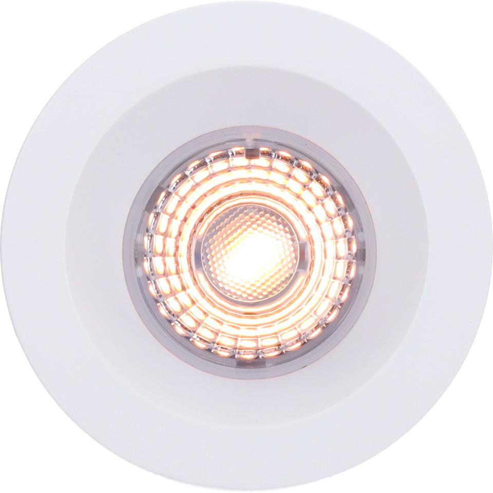 Alfa Soft Downlight Warmdim 10W matt hvit