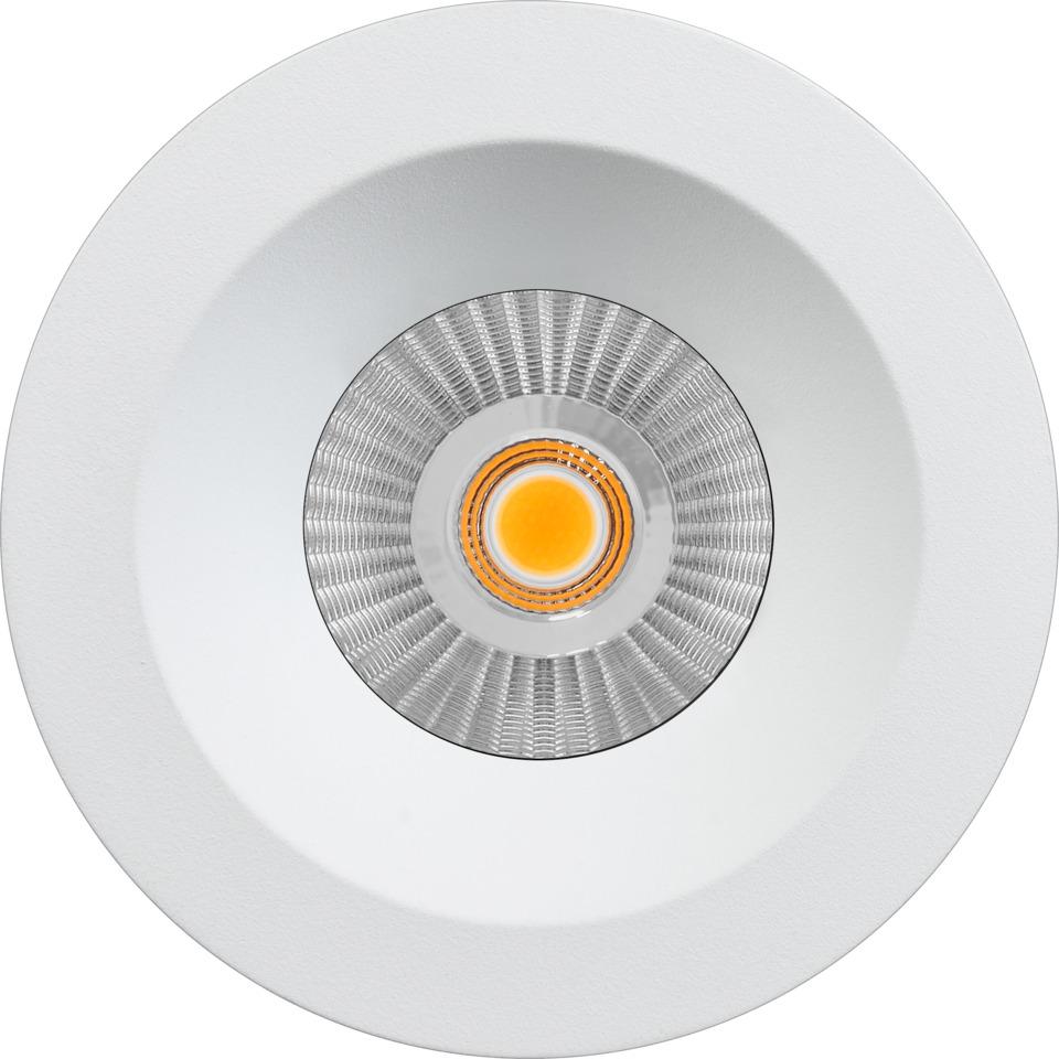 Alfa reflektor Soft Downlight 10W matt hvit