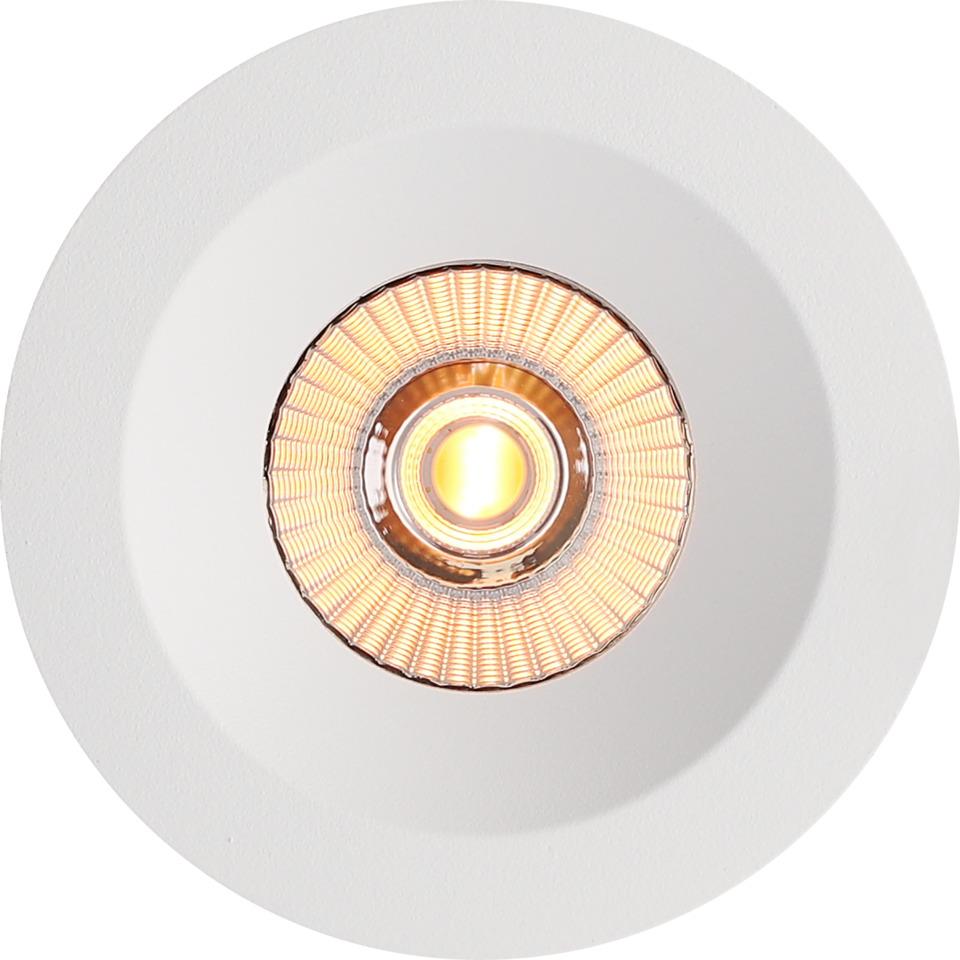 Alfa reflektor Soft Downlight Warmdim 10W matt hvit