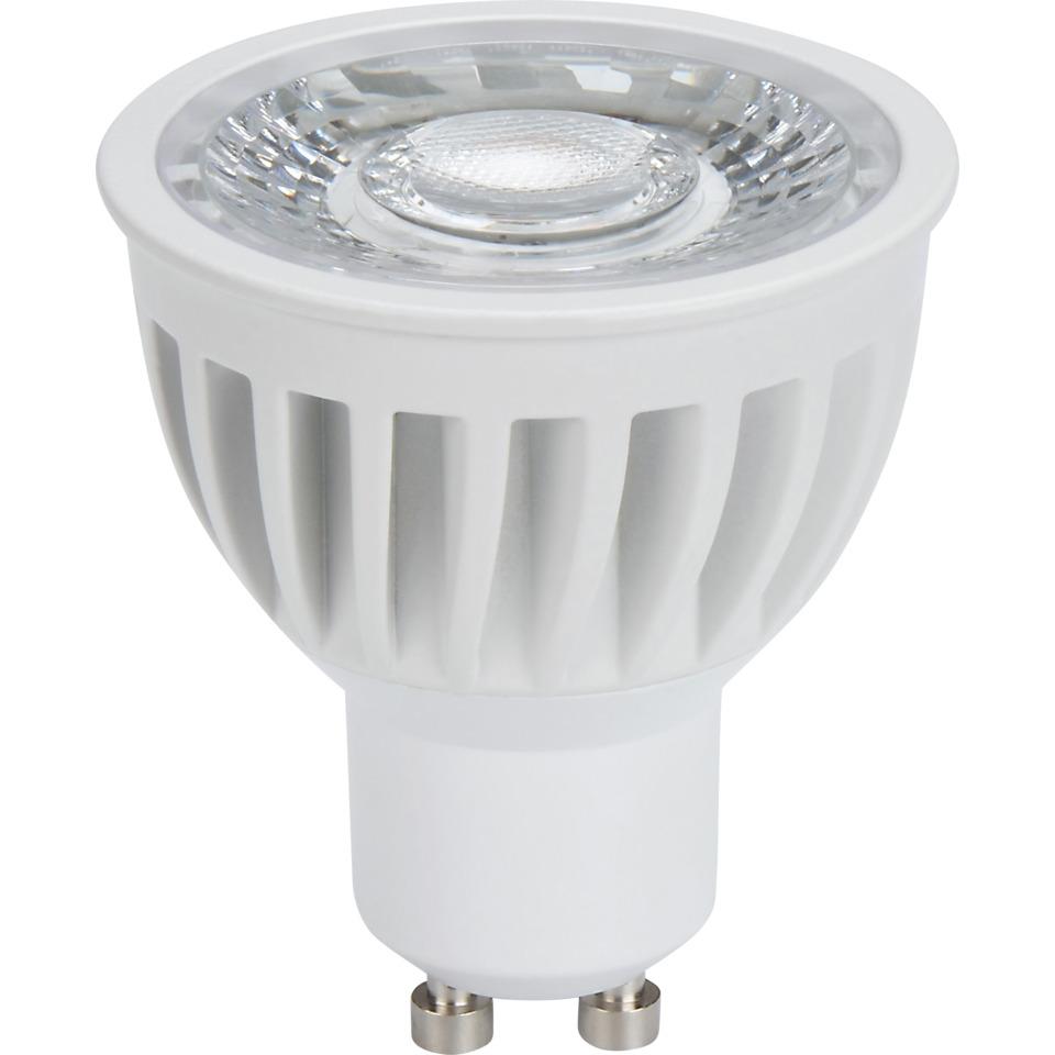 LED Pære 6W hvit GU10