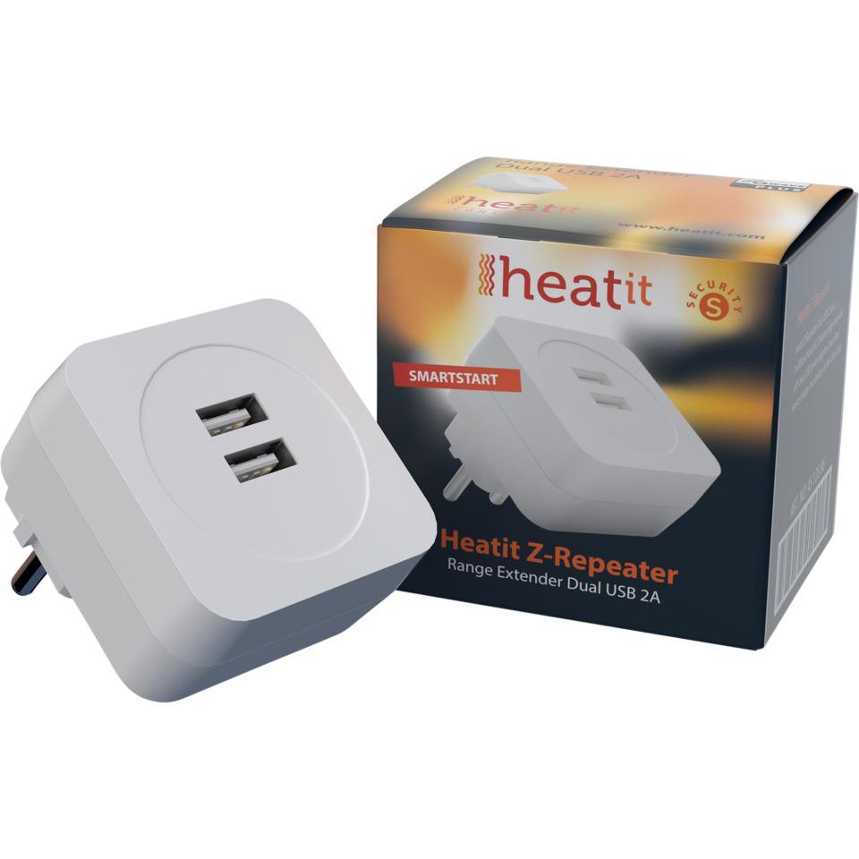 Heatit Z-Repeater Dobbel