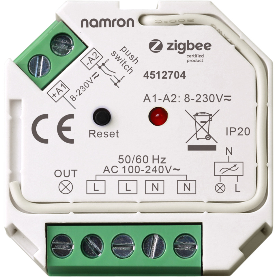 Namron ZigBee Switch 400W