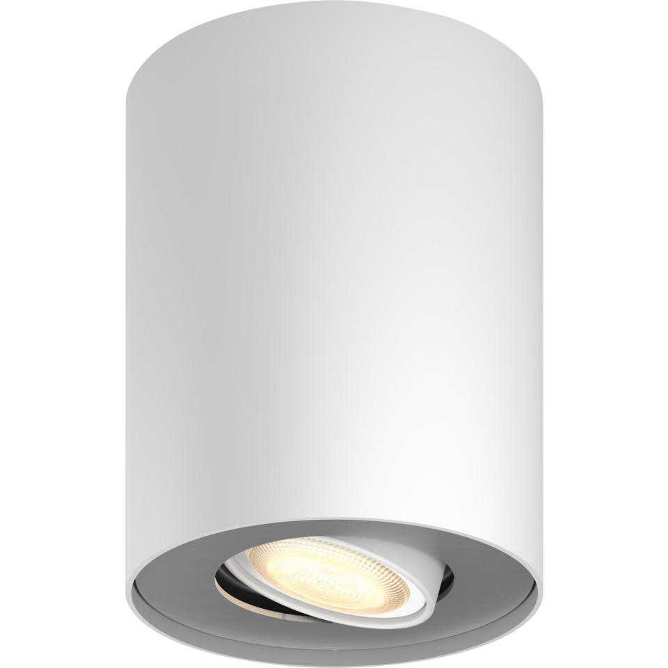 Philips Hue WA Pillar Enkel Spot 5.5W Hvit