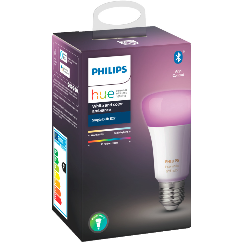 Philips Hue WCA E27 Lyskilde A60 9W