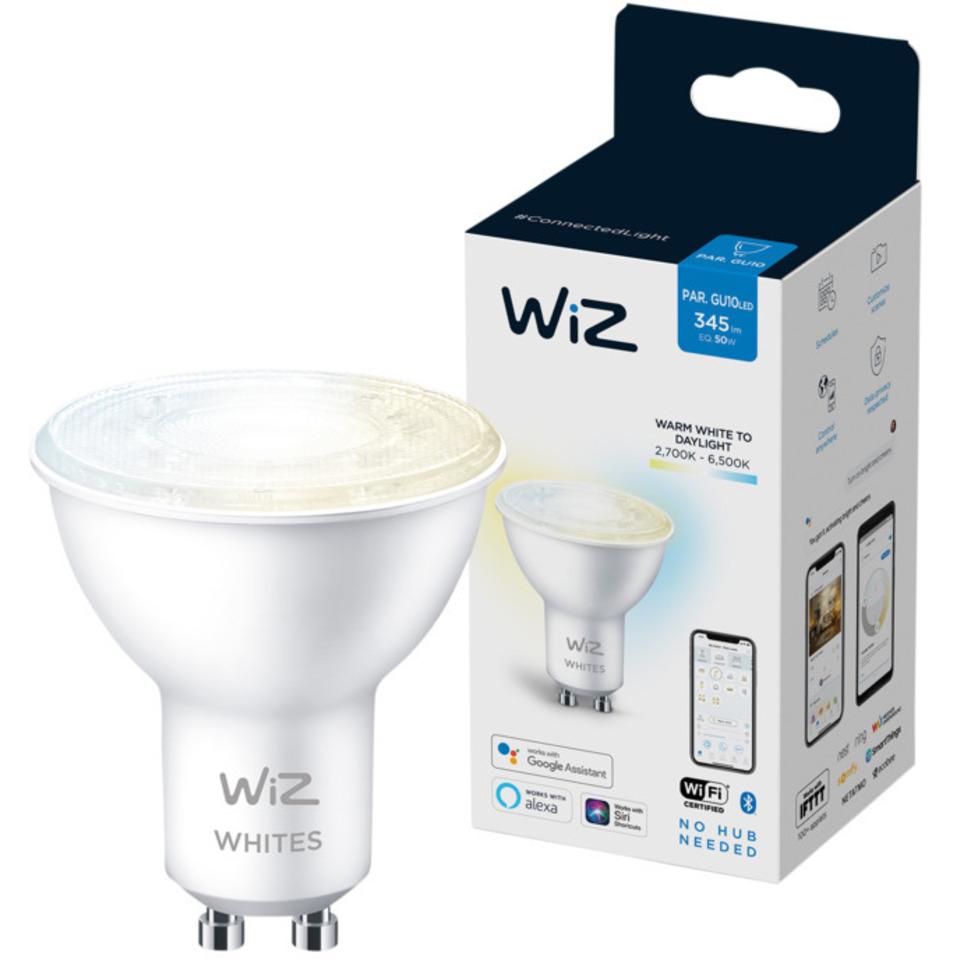 WiZ Lyskilde WA 4,8W GU10 WiFi