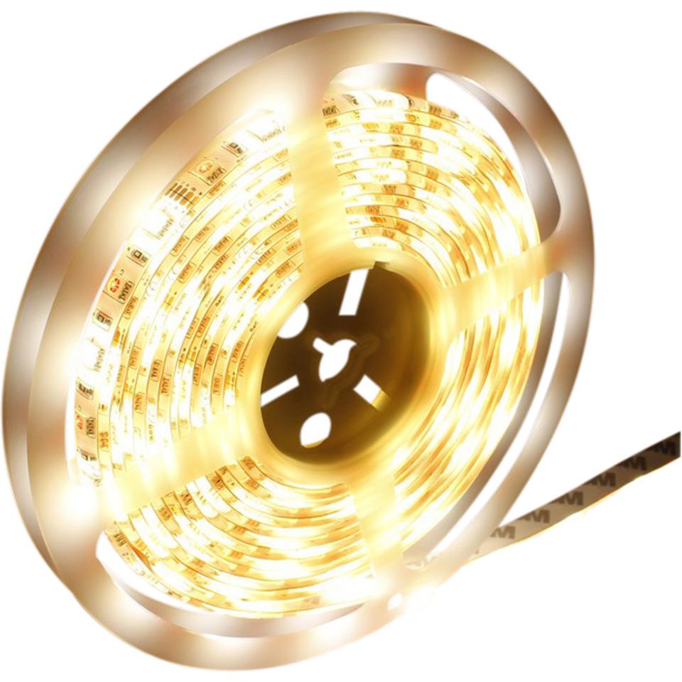 LED Strip Varmhvit-Kaldhvit 5m IP65 IR
