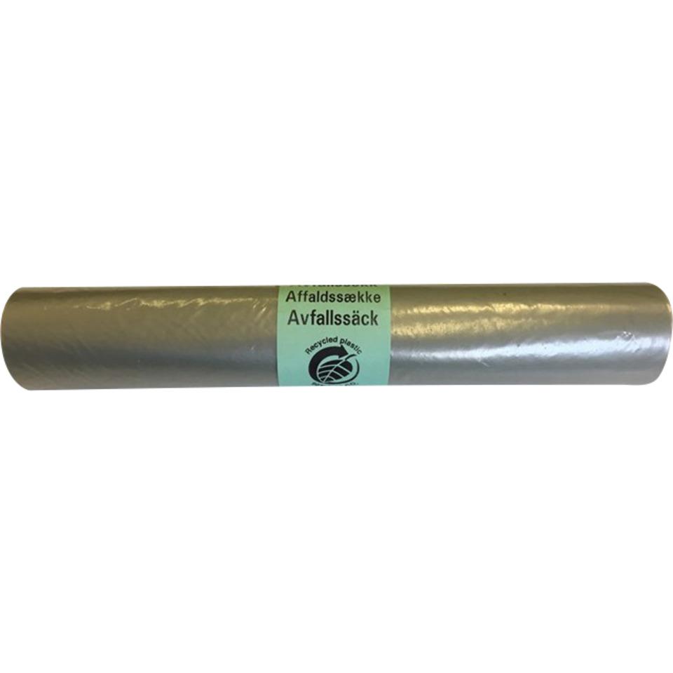 Søppelsekk Klar 100L 70X110cm Basis Rull 10 Stk