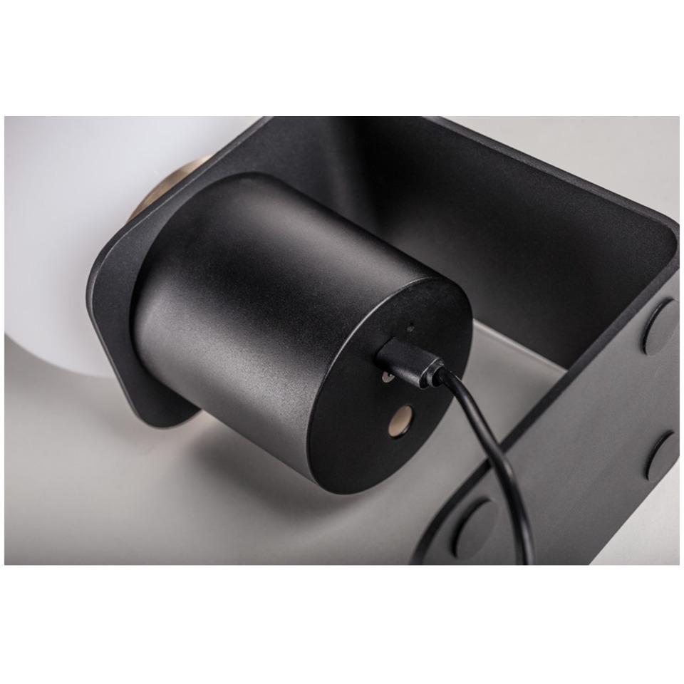 SLV Tonila Batteridrevet Lampe 2700K Sort | Elektroimportøren AS