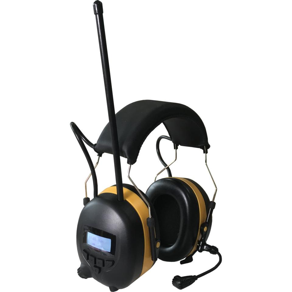 Hørselvern med DAB+/Bluetooth T-TEC