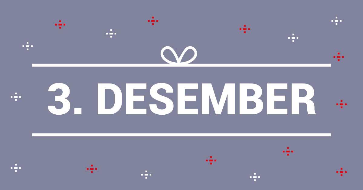 3. Desember