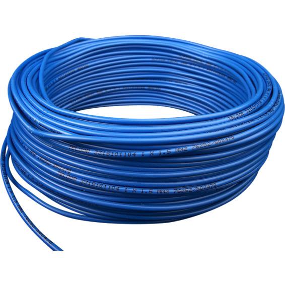 RKK 1,5 Blå Dobbelisolert Bunt 25m