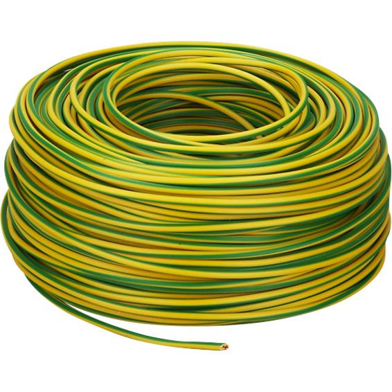 PN 6mm² Gul/Grønn Snelle 100m