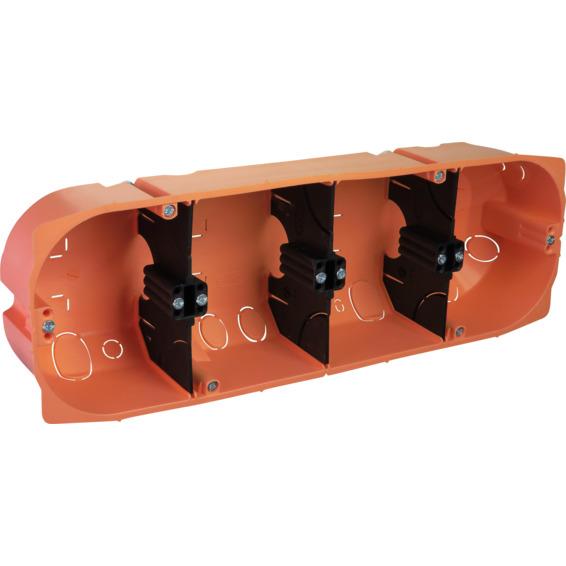 Multiboks rør/kabel 1,5 4 hull Elko