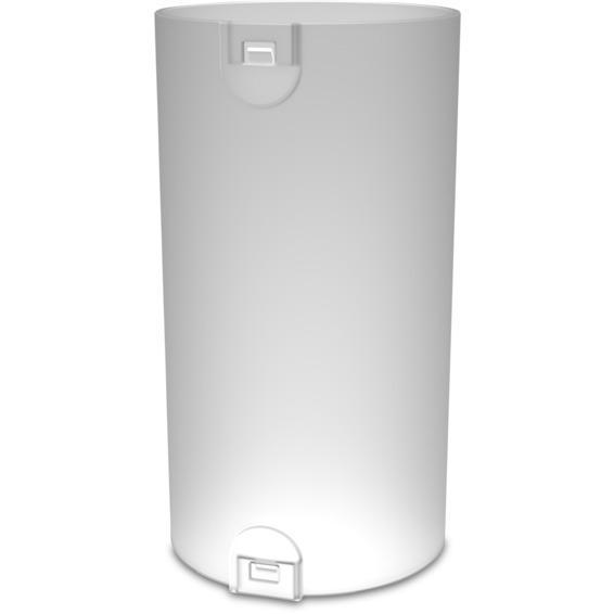 Skjøtemuffe 50mm med lås LSZH hvit