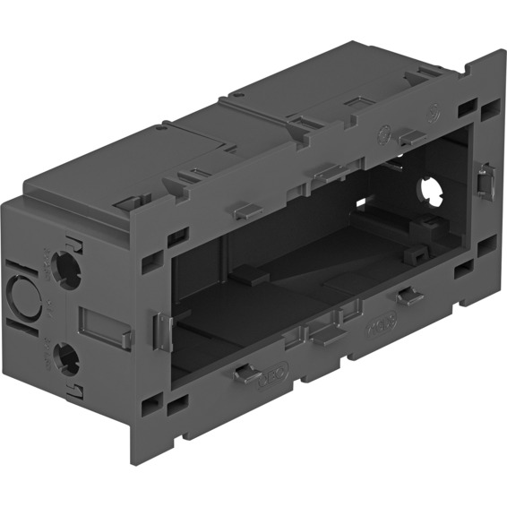 Kanal GK installasjonsboks trippel med baklokk modul 45 OBO