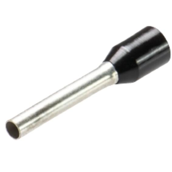 EFA Isolert Endehylse 1,5mm² Sort Normal