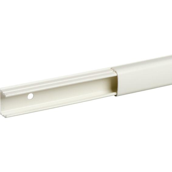 Schneider Minikanal 1 rom hvit PVC OL1220. Lengde 2,1 meter