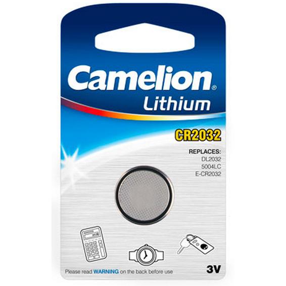 Batteri CR2032 Lithium 3V Camelion