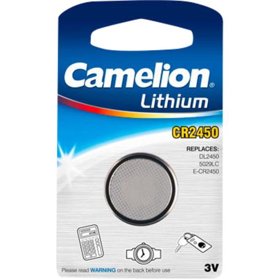 Batteri CR2450 Lithium 3V Camelion