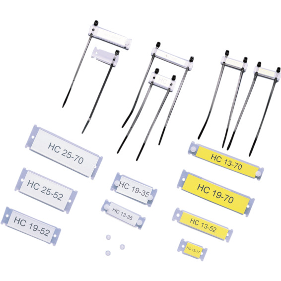 Skiltholder HC12x70mm