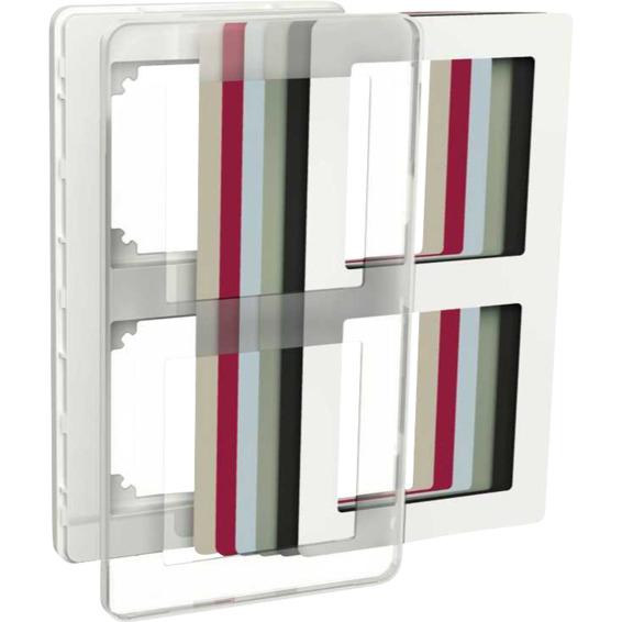 Exxact 2-hulls ramme Design transparent