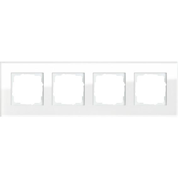 4-H RAMME HVITT GLASS ESPRIT