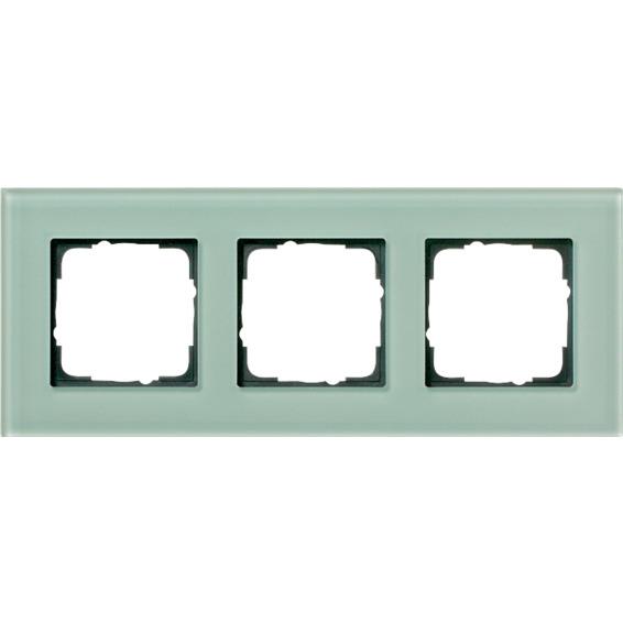 3-H RAMME GLASS GRØNT ESPRIT