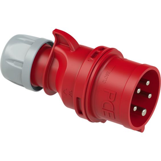 Støpsel Fasevender 16A 3Pol+N+J 400V 6H IP44
