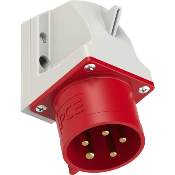 Apparatinntak IP44 32A 3Pol+N+J 400V 6H