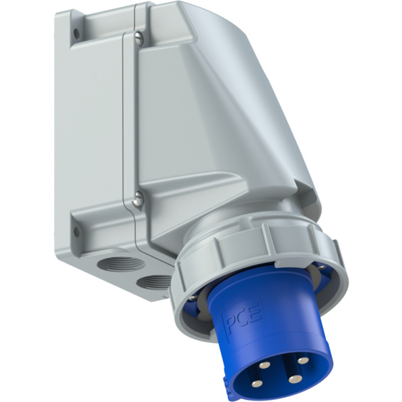 Apparatinntak IP67 63A 3P+J 230V 9H