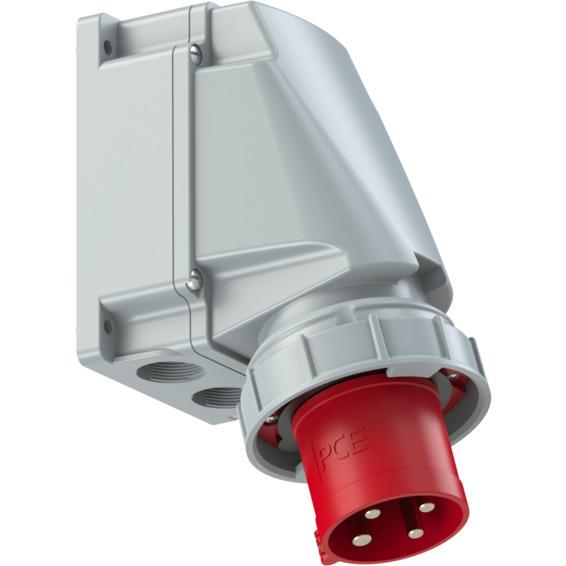 Apparatinntak IP67 63A 3P+J 400V 6H