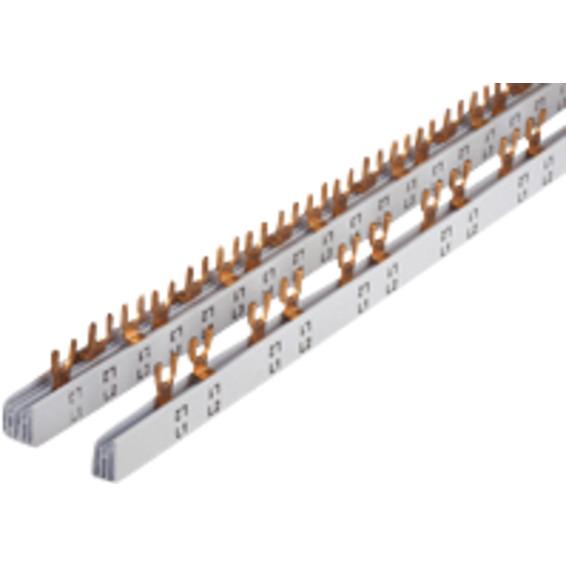 KAPPET SKINNE 4P (1+N)2P/2MODUL FOR FLEXIB 9 KURSER CV045445